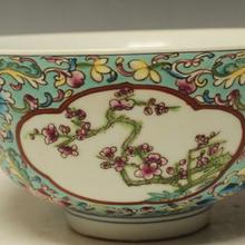 清代珐琅彩碗瓷器能卖多少钱?(藏品免费鉴定评估)