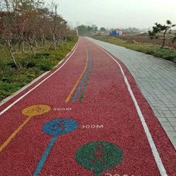 濰坊透水混凝土道路建設加施工,威海彩色透水混凝土材料直供