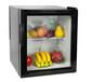 綠零40L玻璃門小冰箱酒店公寓客房小冰箱迷你學生宿舍冰箱
