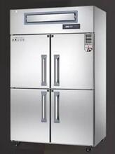 鼎美四門不銹鋼冷藏柜鼎美單溫冷藏冰箱BR4商用四門廚房冷柜圖片
