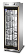 億盟消毒柜YTP-380A1億盟豪華中溫保潔柜單門不銹鋼餐具消毒柜圖片