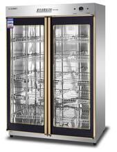 億盟YTP-910A億盟中溫消毒保潔柜雙門臭氧餐具消毒柜烘干圖片