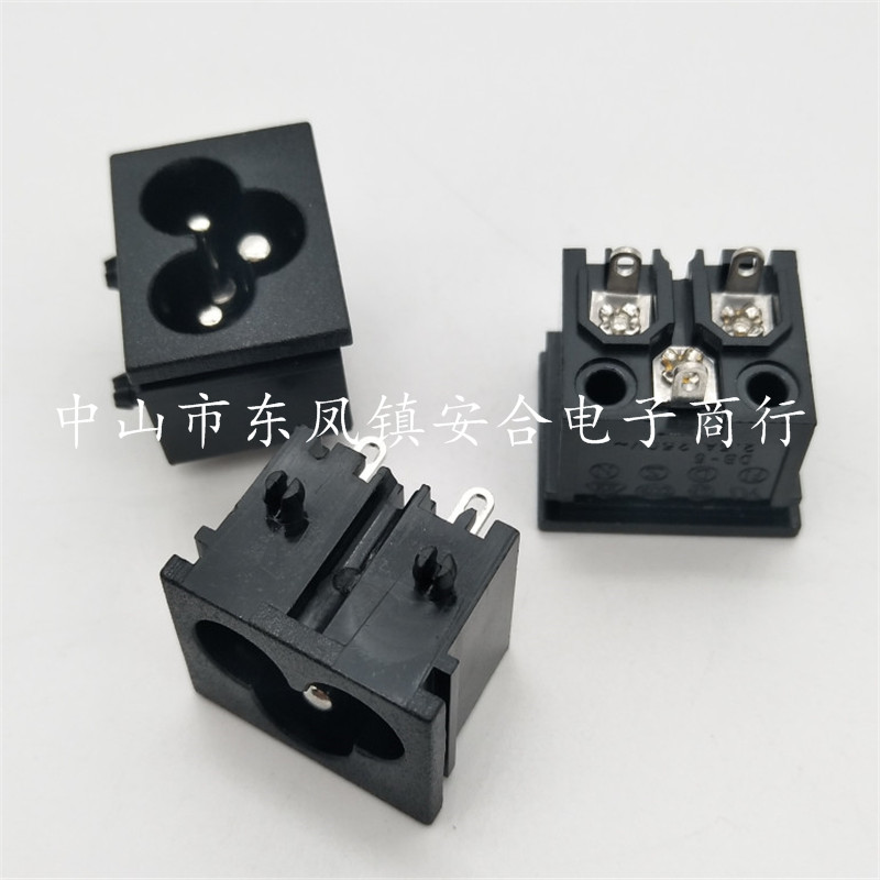 供应各种规格尺寸3孔梅花插座电源插座CCC插座