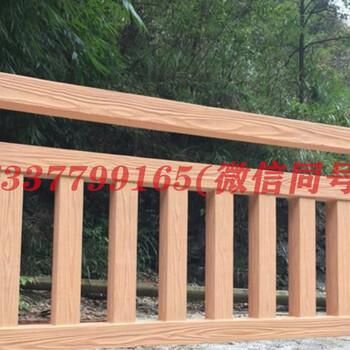 河南仿木护栏厂家调研河南景观园林:看到了不一样的风景
