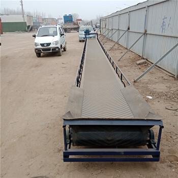 重庆沙坪坝鲁晨机械电动升降式皮带传送机刮板式提升机报价
