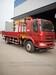 单桥6.3吨8吨10吨随车吊5.8米货箱生产厂家