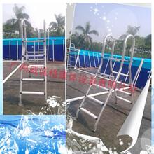 泳池扶手扶梯图片