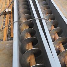 钢厂专用耐磨U型螺旋提升机密封式螺旋输送机图片