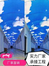 供应优游注册平台重庆优游注册平台软膜天花透光膜白膜蓝天白云海底世界吊顶灯膜图片