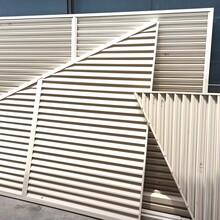 蘇州常熟空調格柵廠家鋁合金/鋅鋼百葉窗定做百葉窗加工廠