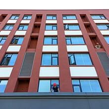 桐鄉鋁合金防雨百葉窗加工廠空調百葉窗制作圖片