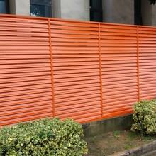 嘉興秀區空調外機防護罩鋁合金通風百葉窗外墻空調圍欄