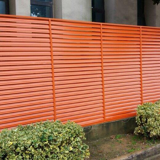 杭州淳安鋁合金百葉窗定制空調護欄定做