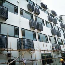 嘉興海鹽鋁合金電動/手動百葉窗制作空調護欄定做源頭廠家