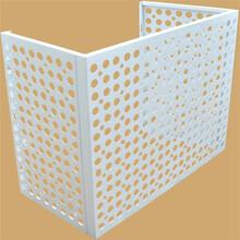 平湖空調鋁合金百葉窗制作空調出風口空調外機保護罩