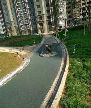 新疆伊犁奎屯市彩色透水混凝土彩色透水地坪承接材料项目厂家直销