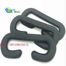 膠件上直接高周波電壓吸塑成型PVC耳機套供應品質TPU硅膠皮耳套圖片
