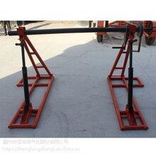 刹车式放线架液压放线架张力可拆放线架电缆盘支架卧式放线架图片