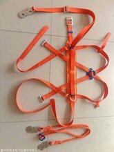 高空作业安全带耐磨保险防坠安全绳套装图片