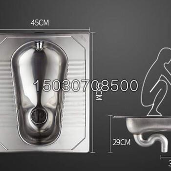 品牌不锈钢蹲便器不锈蹲便器带存水弯304材质