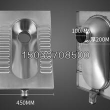 供给不锈钢蹲便器不锈钢窄板蹲便器雅观耐用图片
