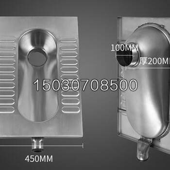 供应不锈钢蹲便器不锈钢窄板蹲便器美观耐用