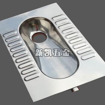 厂家推荐款前排水不锈钢蹲便器304不锈钢蹲坑