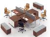 河北一赫板式办公家具2019新款屏风工位铝合金钢木简约时尚定制