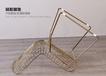 北歐鏤空鐵絲椅定制創意鐵藝家具現代個性網紅椅子金屬家具