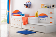 定制兒童房上下床整體榻榻米床衣柜組合定制