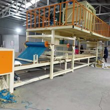 新型岩棉复合板生产机器与机制岩棉保温板生产线生产工艺图片
