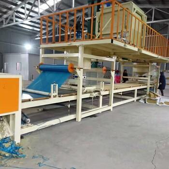 新一代砂浆岩棉复合板设备与机制岩棉复合板生产线