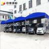 甘肃厂家直销推拉雨篷大型活动帐篷伸缩遮阳蓬移动车篷