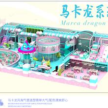 重庆朔行游乐设备淘气堡儿童城堡图片