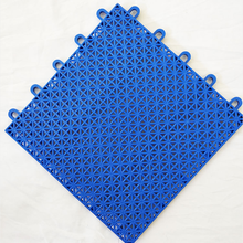 运动塑料地板定制耐磨幼儿园防滑悬浮塑料地板悬浮拼装地板图片