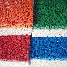 幼儿园EPDM塑胶场地小学13mm彩色颗粒塑胶跑道游乐场运动场工程施工
