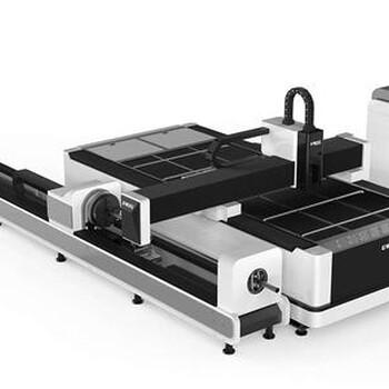 国宏板管一体激光切割机切割工艺完美单台面双台面现货