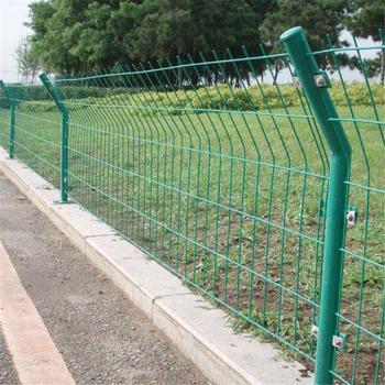 现货供应无边框围网,铁丝围栏网,池塘防护围网