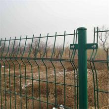 双边铁丝围网+圈地防护铁丝网+铁丝网生产厂家图片