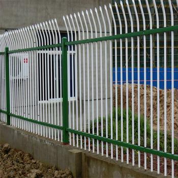 围墙防护栏杆A院墙锌钢护栏A庭院防护栏杆