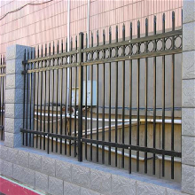 锌钢护栏+院墙防护栏杆+防护栏杆生产图片