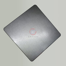 彩色不锈钢装饰板高比喷砂哑光黑钛不锈钢板加工厂家