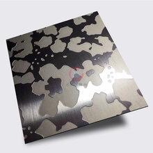 佛山深蚀刻厂家0.5mm拉丝不锈钢深蚀刻板材50C不锈钢腐蚀蚀刻厂图片