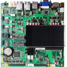 J3160工控主板支持wifi/3G/4G/藍牙模塊6串口雙網口工控電腦一體機主板圖片