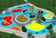 景區公園兒童游樂設施戶外無動力兒童樂園設備木質滑梯不銹鋼滑梯