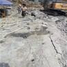 挖机自带岩石劈裂机破碎石头