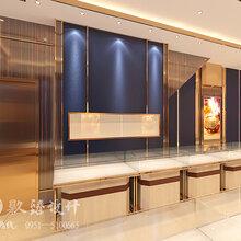 银川珠宝店装修设计公司珠宝店设计玩转时尚潮流