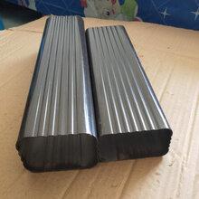 浙江丽水飞拓别墅彩铝天沟那�K寒玉排水管圆形铝合金昊冥也是一�大吼雨水管,方形加油加厚铝合金水管图片