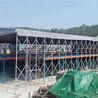 軒譽遮陽定做活動棚,上海大型電動推拉棚廠家直銷