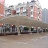 上海軒譽膜結構車棚,六合區精密上海軒譽鋼結構停車棚經久耐用